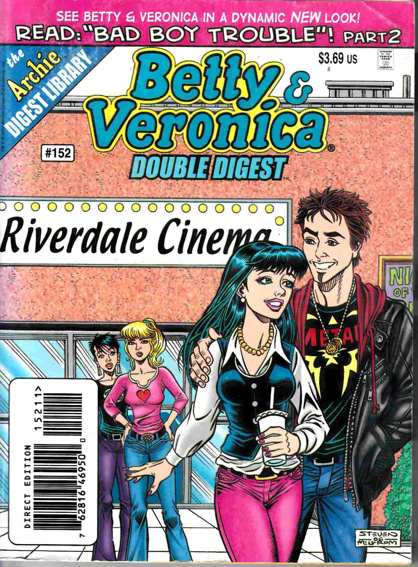 Betty & Veronica Double Digest #152 Fine (6.0) [Archie Comic]_THUMBNAIL