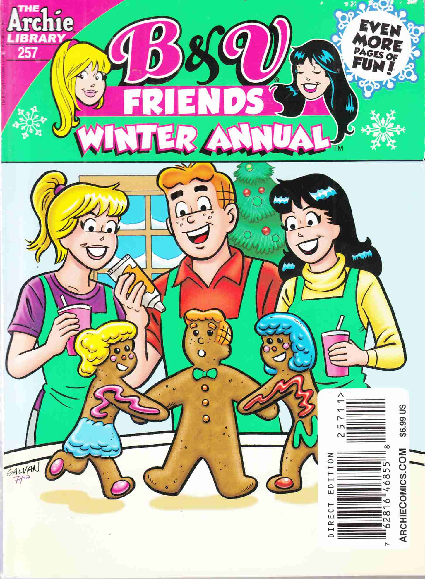 B & V Friends Double Digest #257 Winter Annual Near Mint (9.4)[Archie Comic] THUMBNAIL