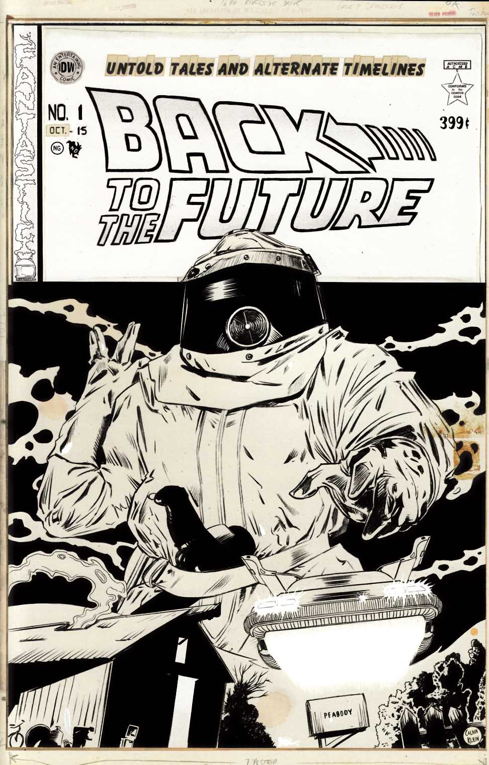 Back to the Future #1 Cover RI [IDW Comic]_THUMBNAIL