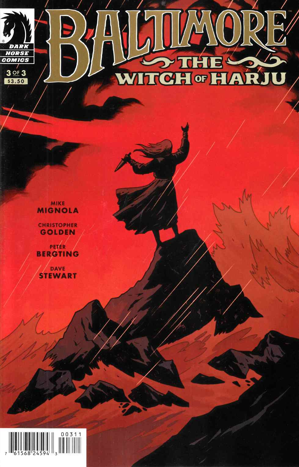 Baltimore Witch of Harju #3 [Dark Horse Comic] THUMBNAIL
