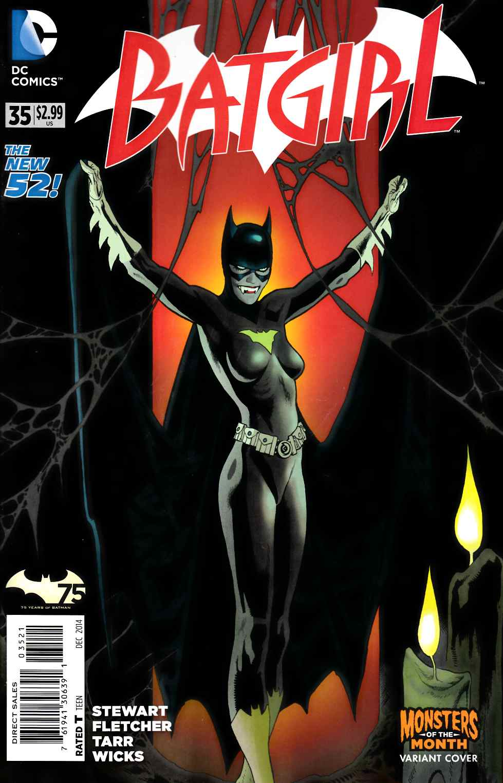 Batgirl #35 Monsters Variant Cover [DC Comic] LARGE