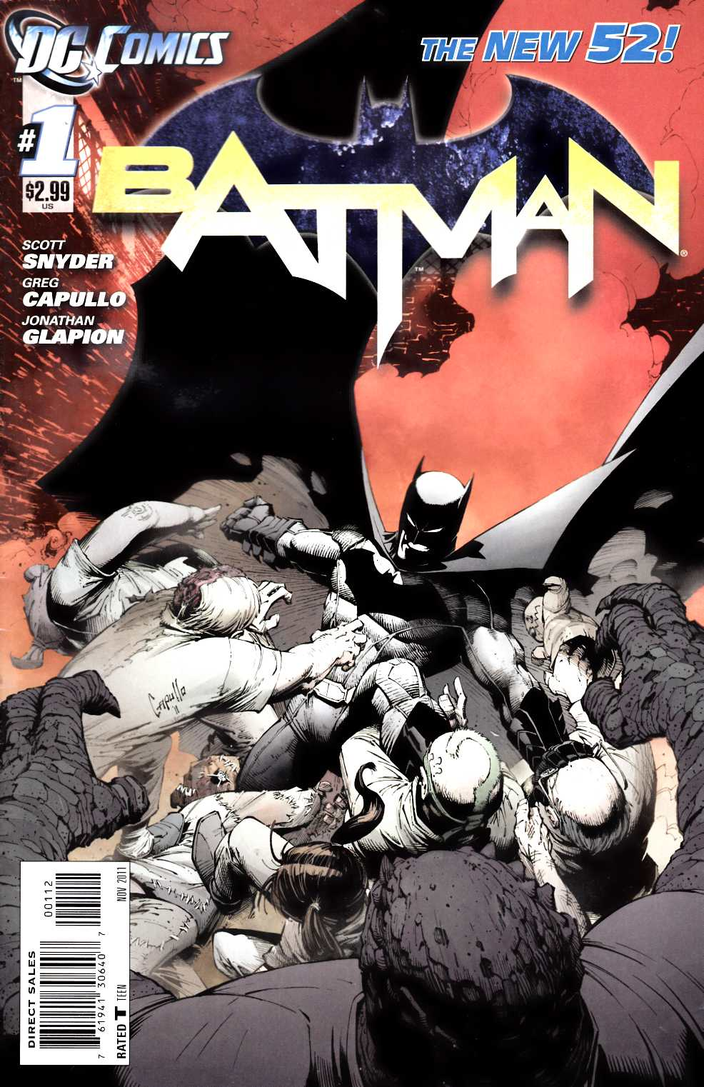 Batman #1 Second Printing [Comic]_THUMBNAIL