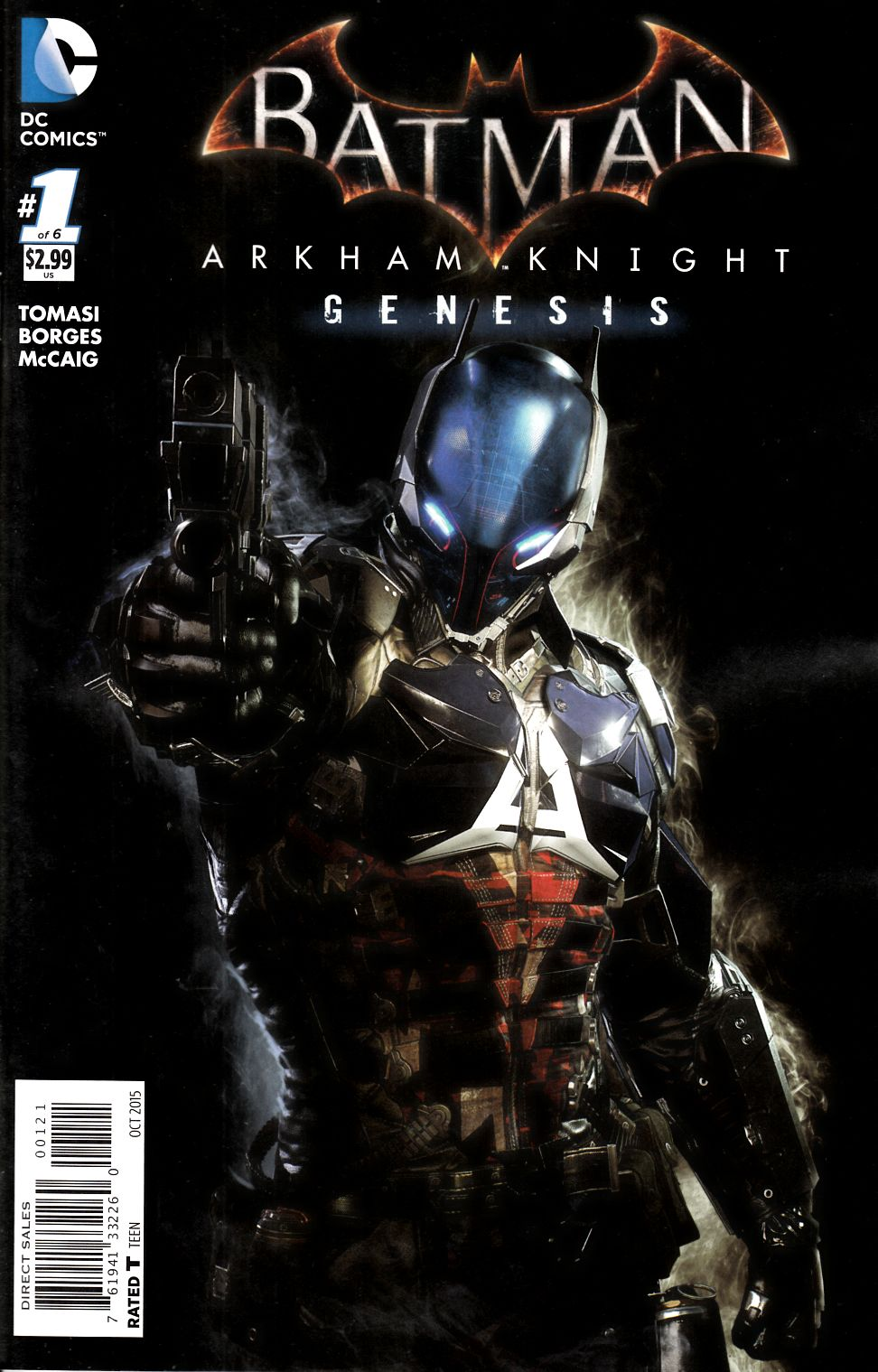 Batman Arkham Knight Genesis #1 Video Game Variant Cover [DC Comic]_THUMBNAIL