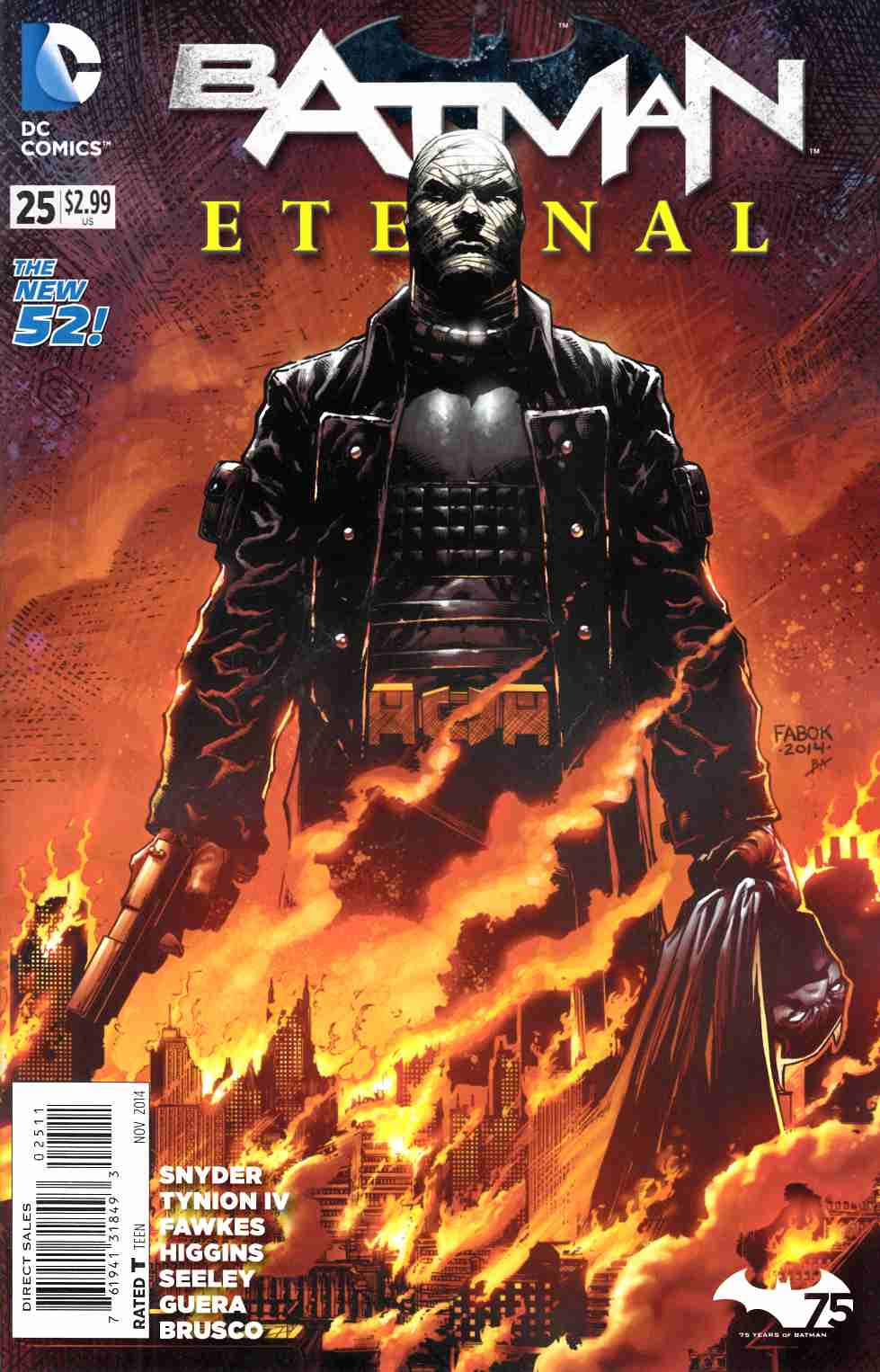 Batman Eternal #25 [DC Comic] LARGE