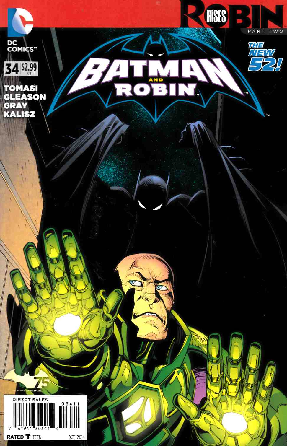 Batman and Robin #34 (Robin Rises) [Comic] LARGE