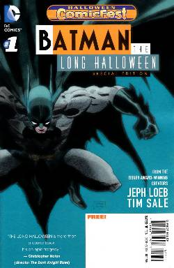 Batman the Long Halloween #1 2013 Halloween ComicFest Special Edition [Comic] LARGE
