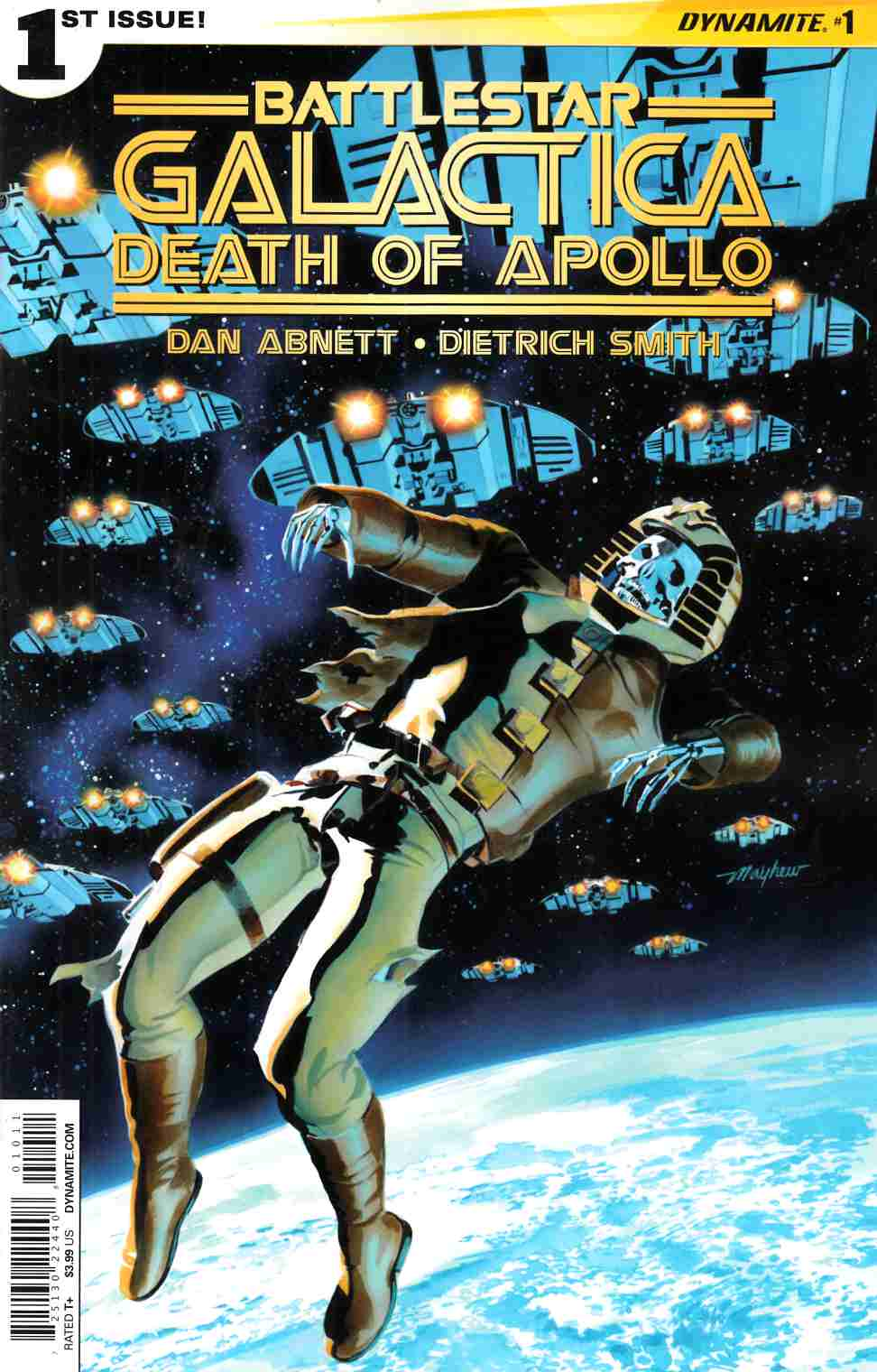 Battlestar Galactica Death of Apollo #1 Cover A- Mayhew [Dynamite Comic]