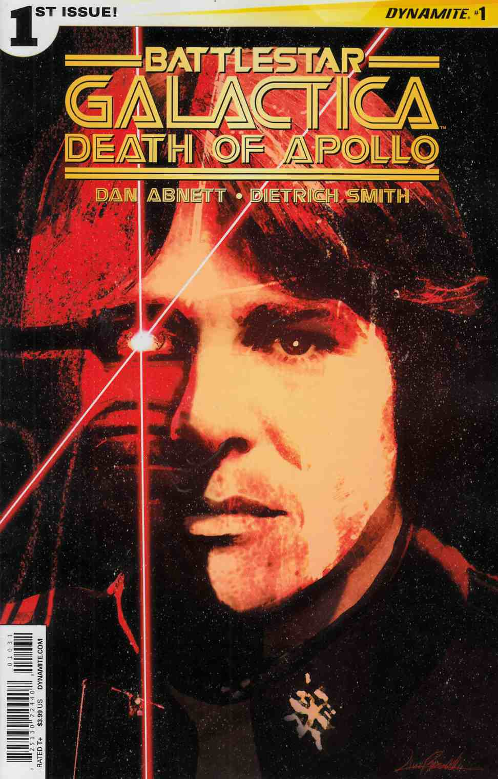 Battlestar Galactica Death of Apollo #1 Cover C- Ramondelli [Dynamite Comic]