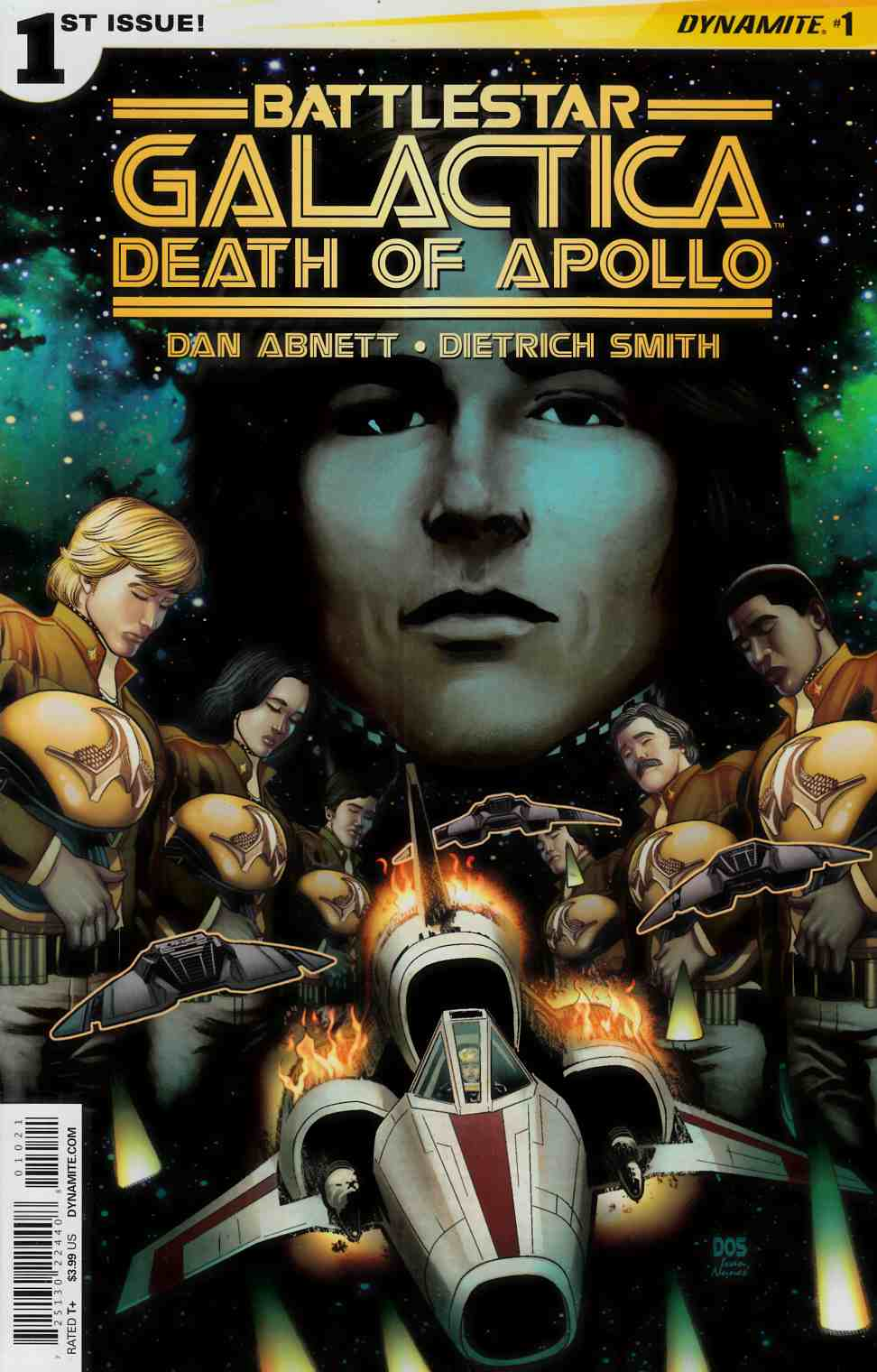 Battlestar Galactica Death of Apollo #1 Cover B- Smith [Dynamite Comic] THUMBNAIL