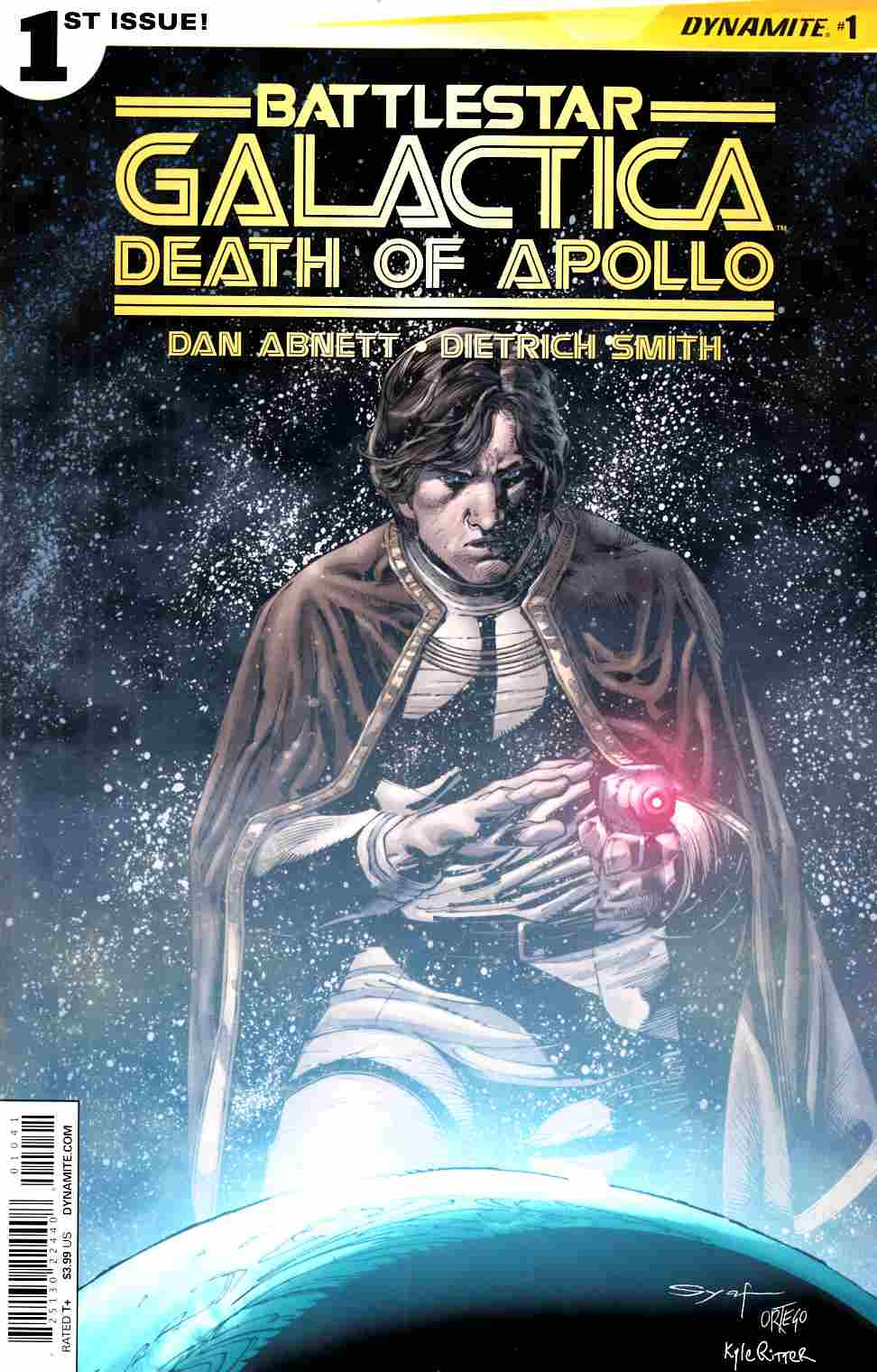 Battlestar Galactica Death of Apollo #1 Cover D- Syaf Subscription Cover [Dynamite Comic]
