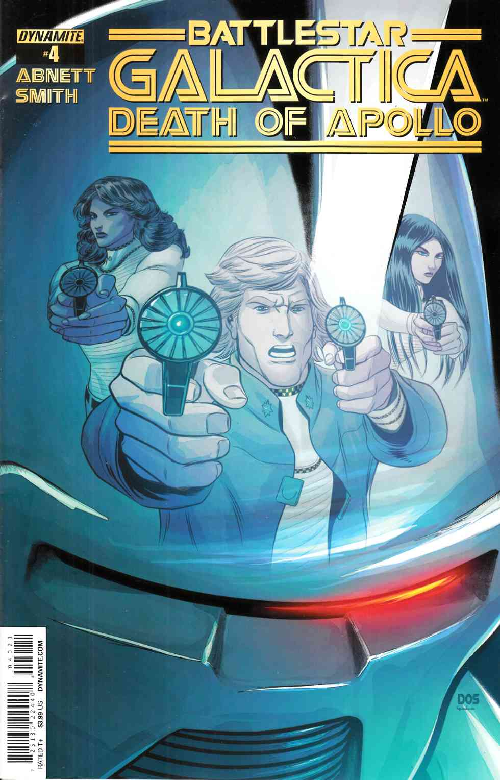 Battlestar Galactica Death of Apollo #4 Cover B- Smith [Dynamite Comic]