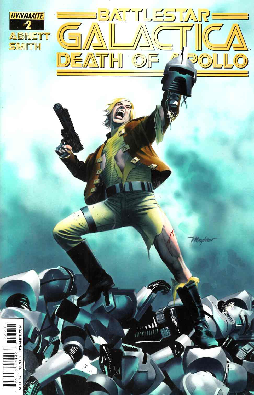 Battlestar Galactica Death of Apollo #2 Cover A- Mayhew [Dynamite Comic] THUMBNAIL