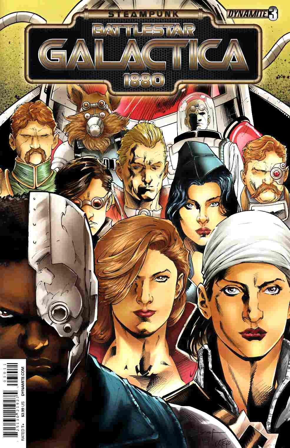 Steampunk BSG 1880 #3 [Dynamite Comic] LARGE