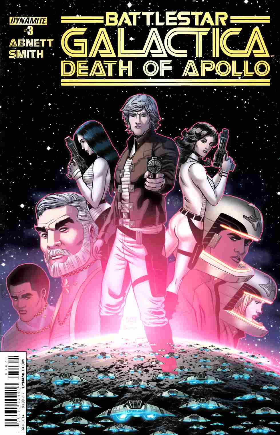 Battlestar Galactica Death of Apollo #3 Cover B- Smith [Dynamite Comic]