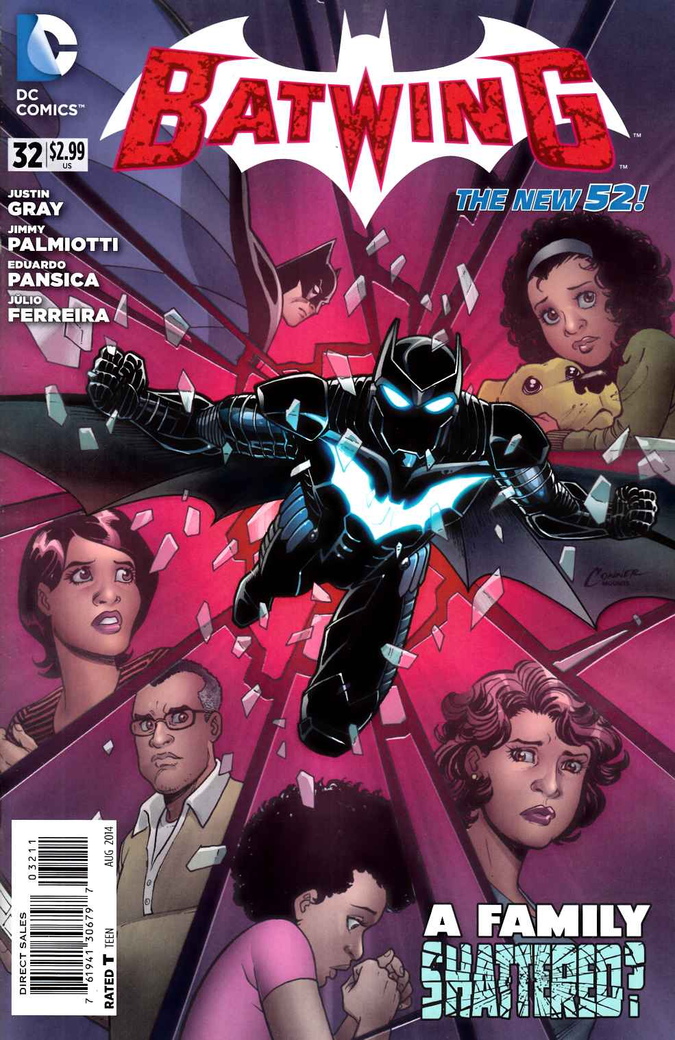 Batwing #32 [DC Comic] LARGE