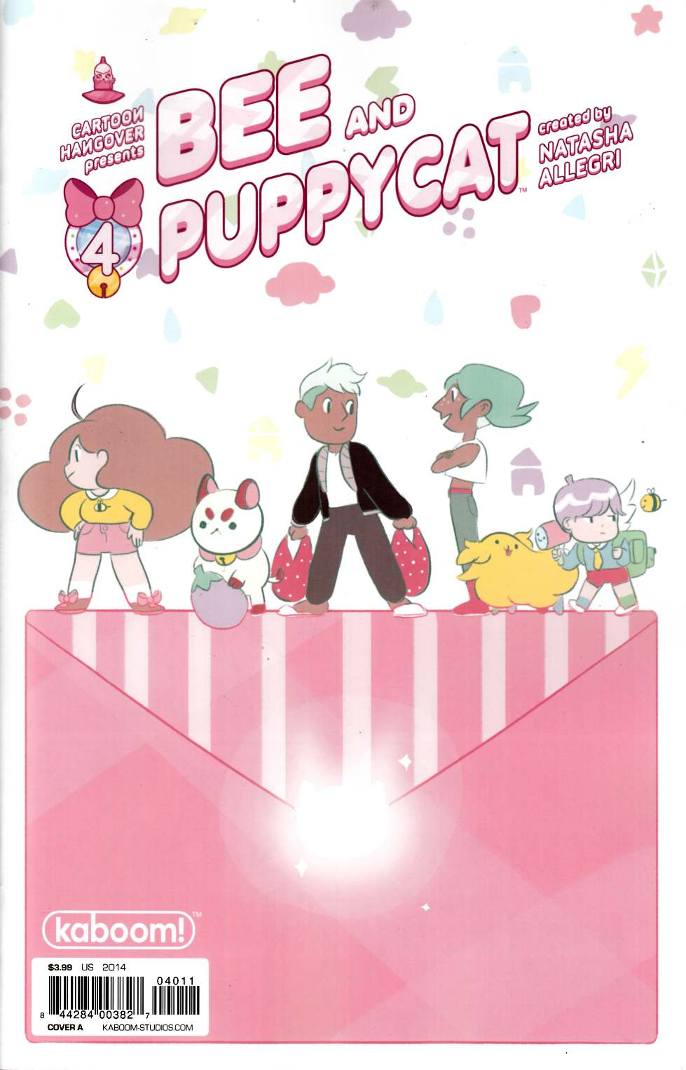 Bee and Puppycat #4 Cover B [Comic] THUMBNAIL