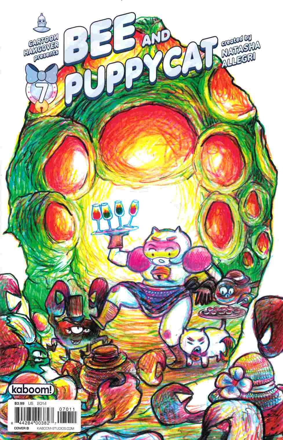 Bee and Puppycat #7 Cover B [Boom Comic] THUMBNAIL
