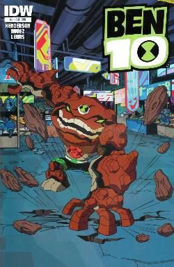 Ben 10 #3 Subscription Cover [Comic] LARGE
