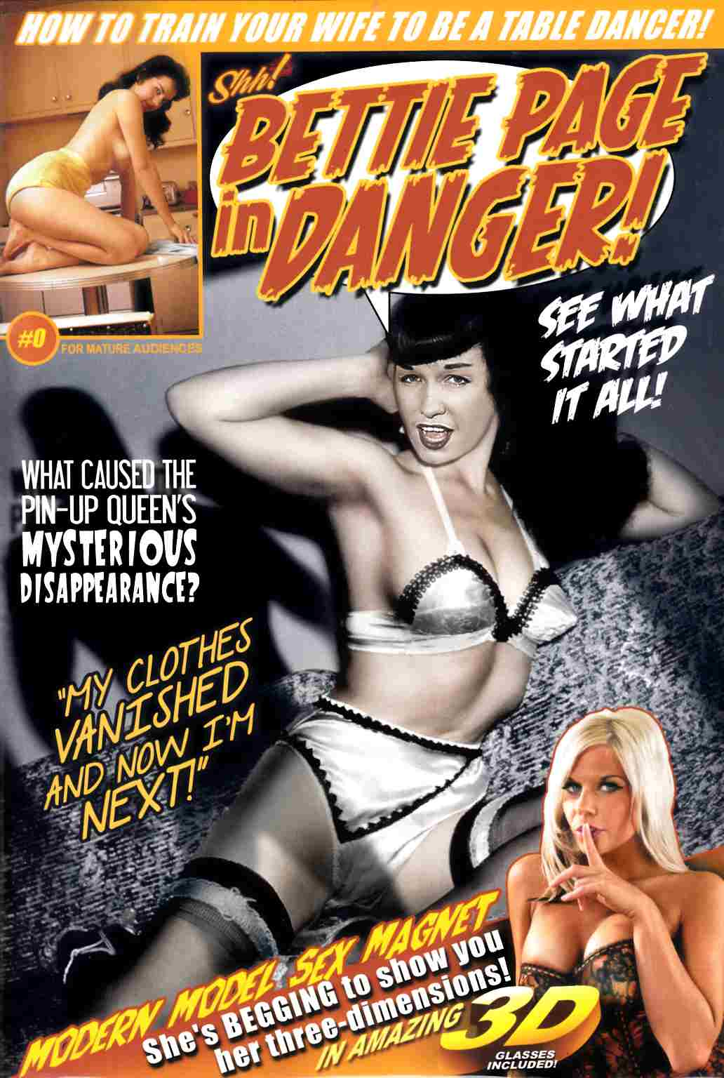 Bettie Page In Danger #0 [Comic] THUMBNAIL