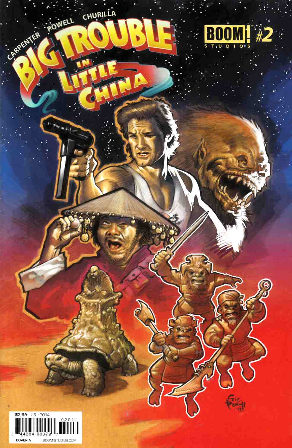 Big Trouble in Little China #2 Cover A- Powell [Comic]