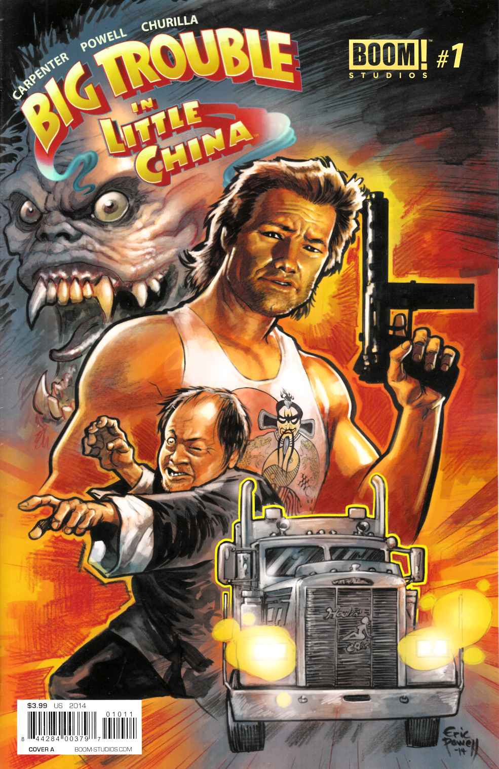 Big Trouble in Little China #1 Cover A- Powell [Comic]