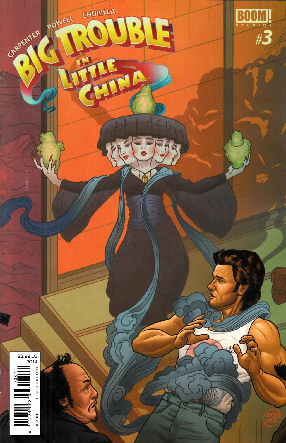 Big Trouble in Little China #3 Cover B [Comic] THUMBNAIL