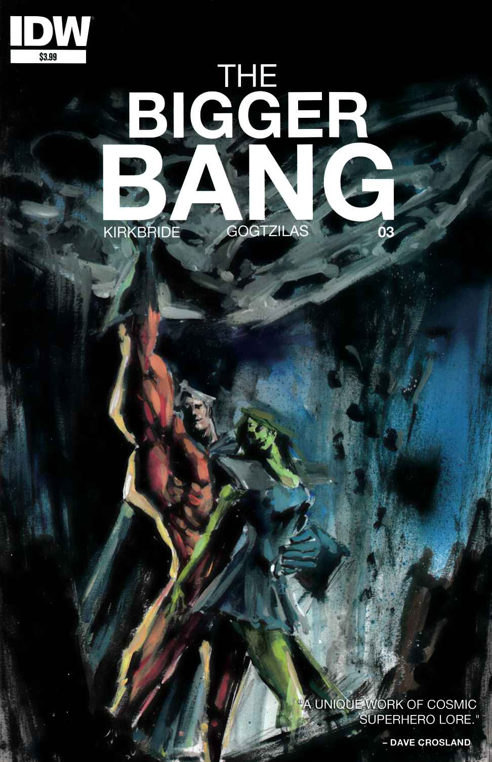 Bigger Bang #3 [IDW Comic]