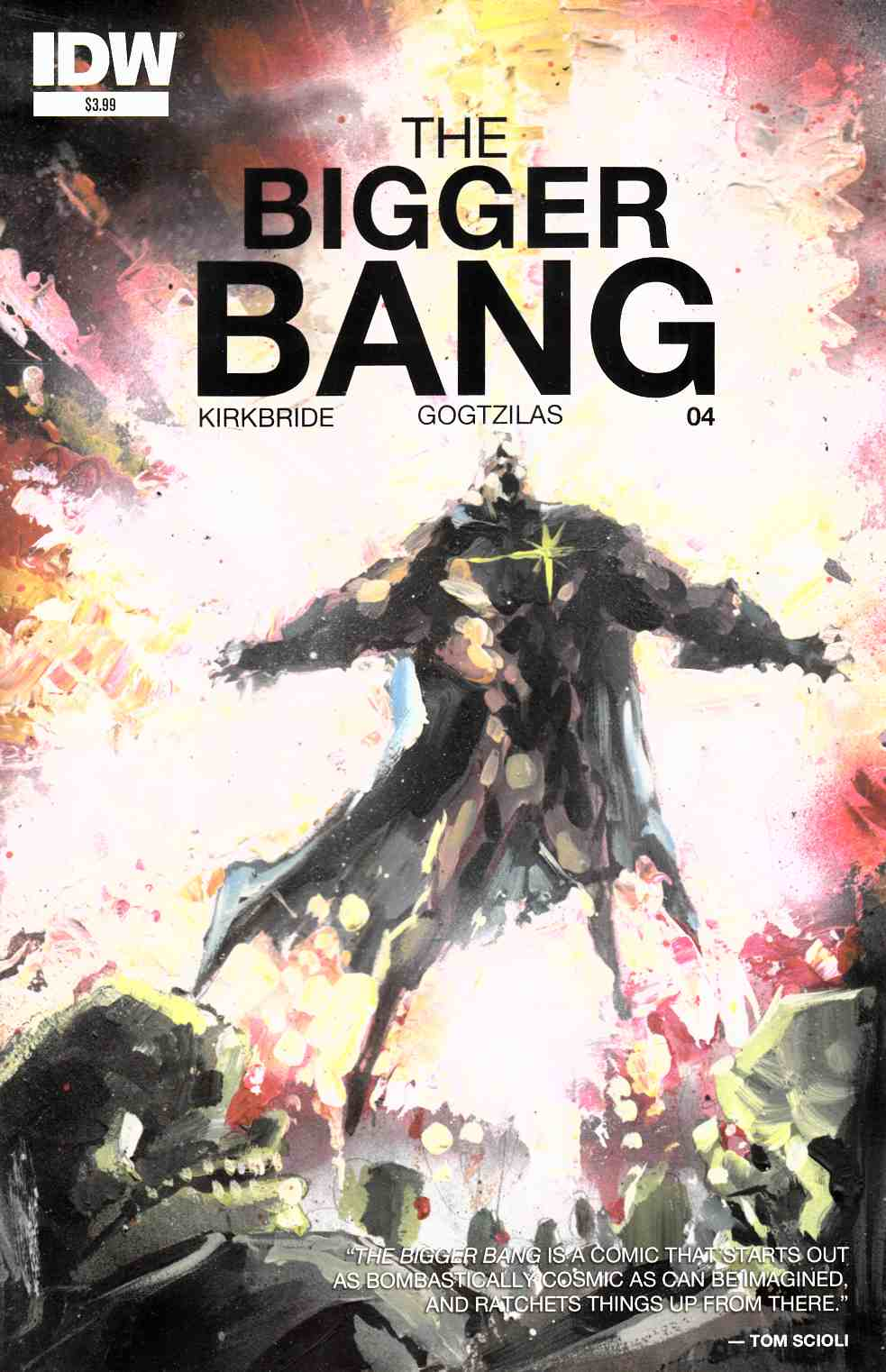 Bigger Bang #4 [IDW Comic]