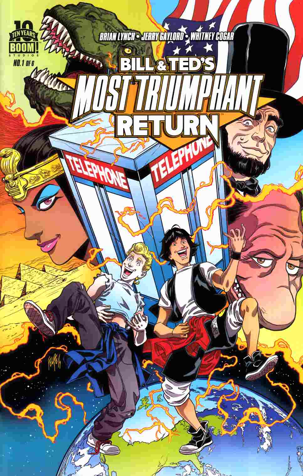 Bill & Ted Most Triumphant Return #1 [Boom Comic] THUMBNAIL