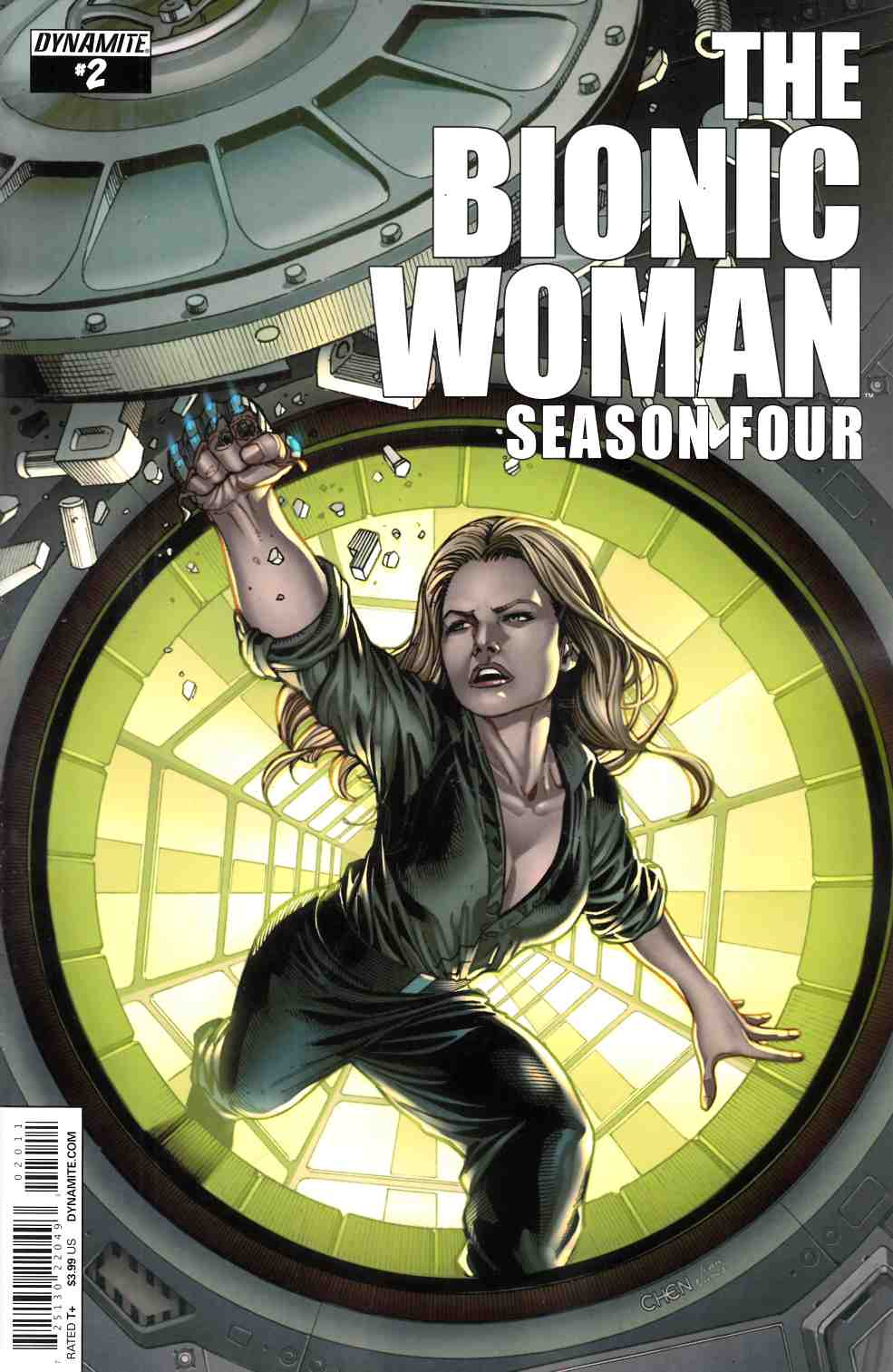 Bionic Woman Season Four #2 [Dynamite Comic]_THUMBNAIL