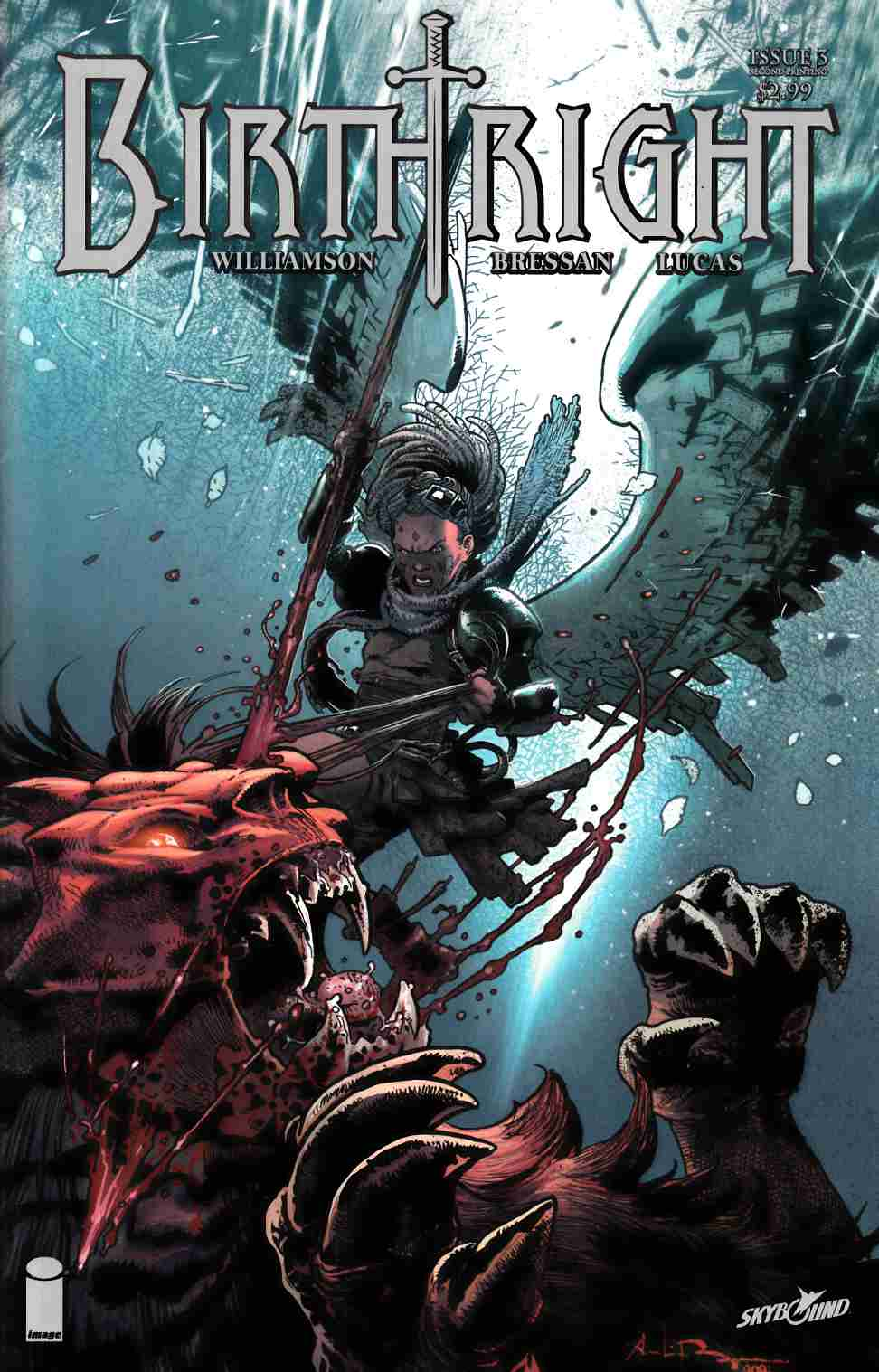 Birthright #3 Second Printing [Image Comic] LARGE