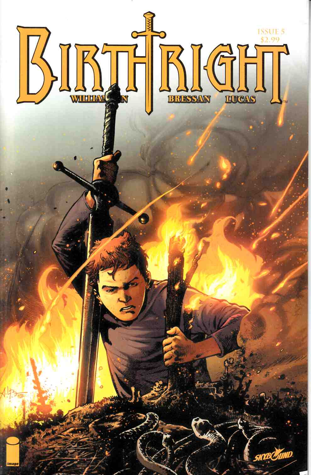 Birthright #5 [Image Comic] LARGE