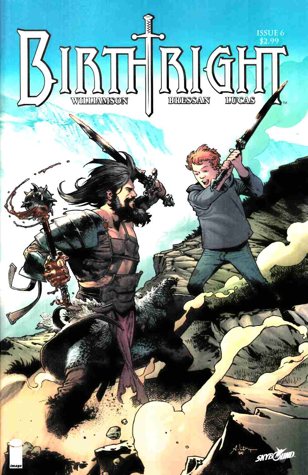 Birthright #6 Cover A [Image Comic] LARGE