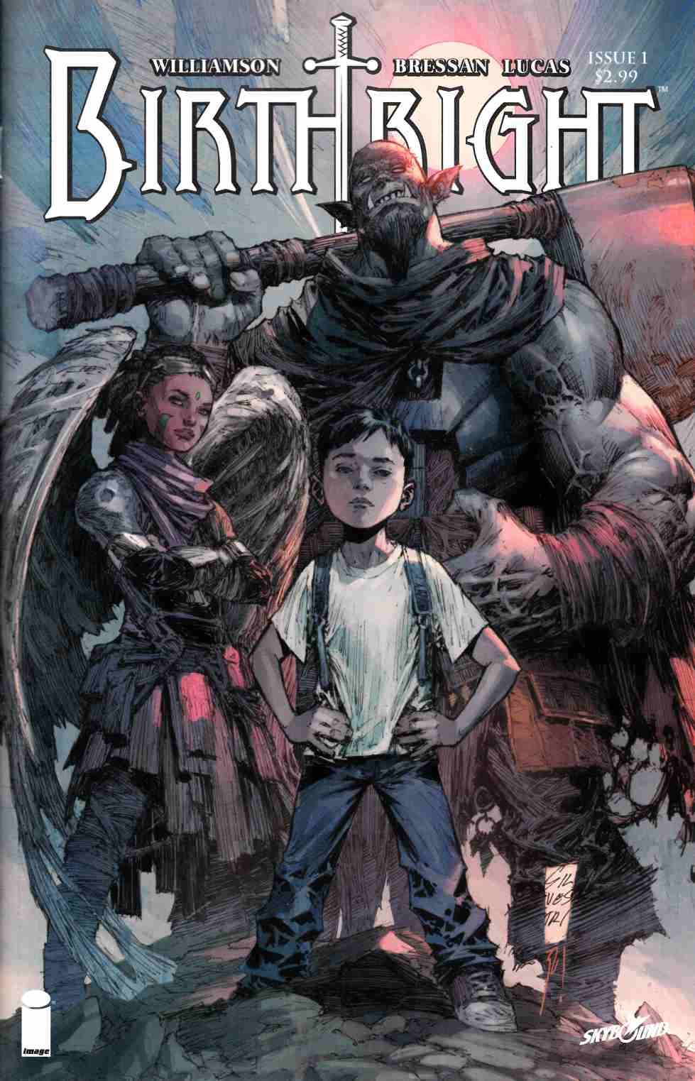 Birthright #1 Cover B- Silverstri [Image Comic] LARGE