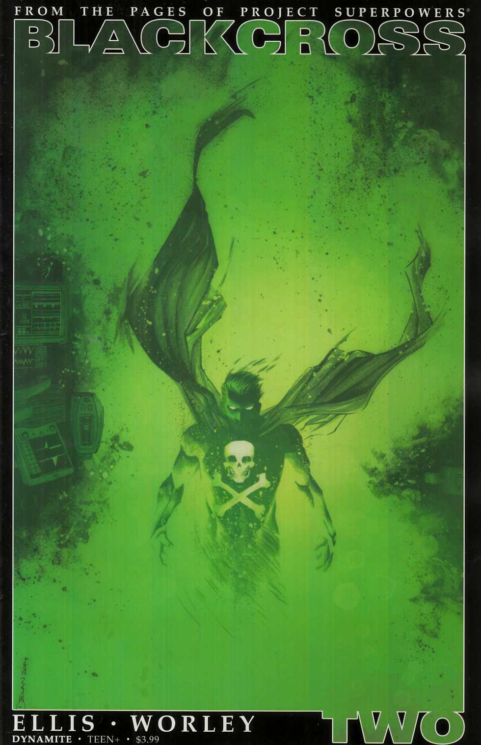 Project Superpowers Blackcross #2 Cover B- Shalvey [Dynamite Comic] THUMBNAIL