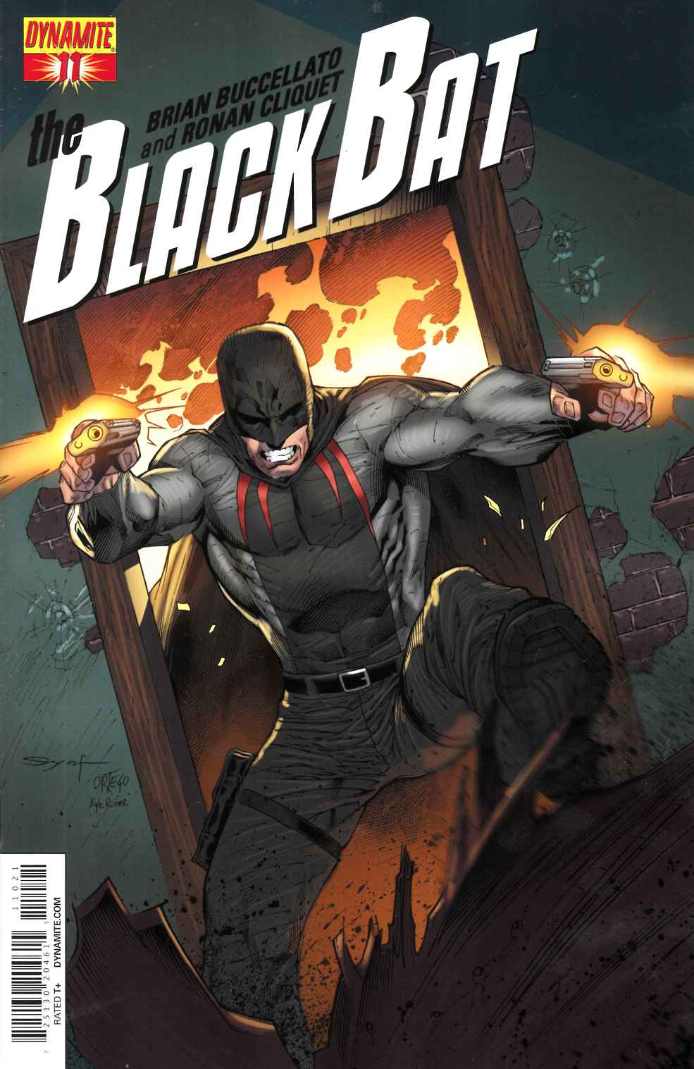 Black Bat #11 Tan Subscription Cover [Comic] THUMBNAIL