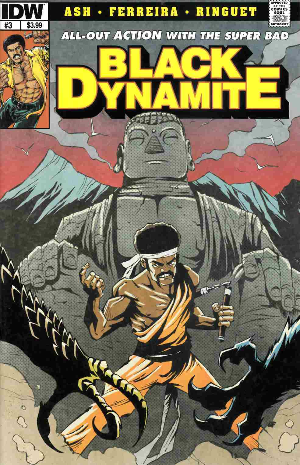 Black Dynamite #3 [Comic] THUMBNAIL