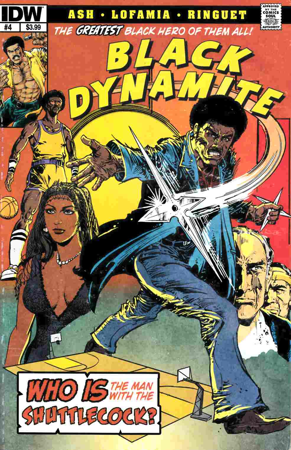 Black Dynamite #4 [IDW Comic] THUMBNAIL