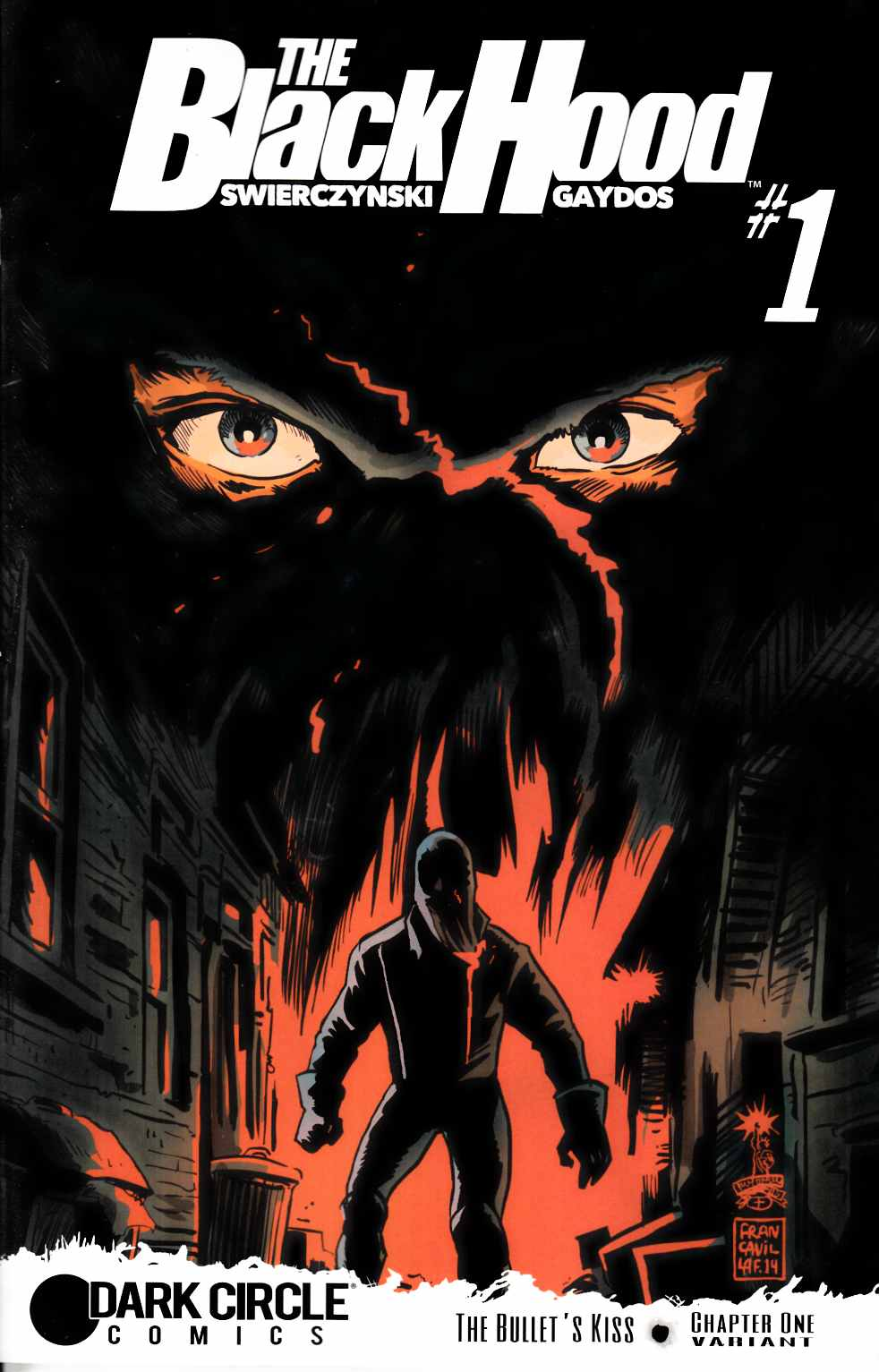 Black Hood #1 Francavilla Variant Cover [Archie Comic] LARGE
