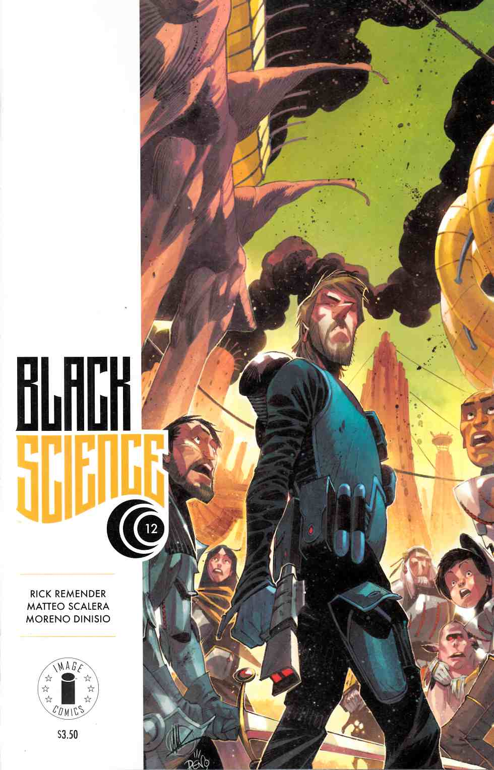 Black Science #12 Cover C- Display Logo Edition [Image Comic] THUMBNAIL