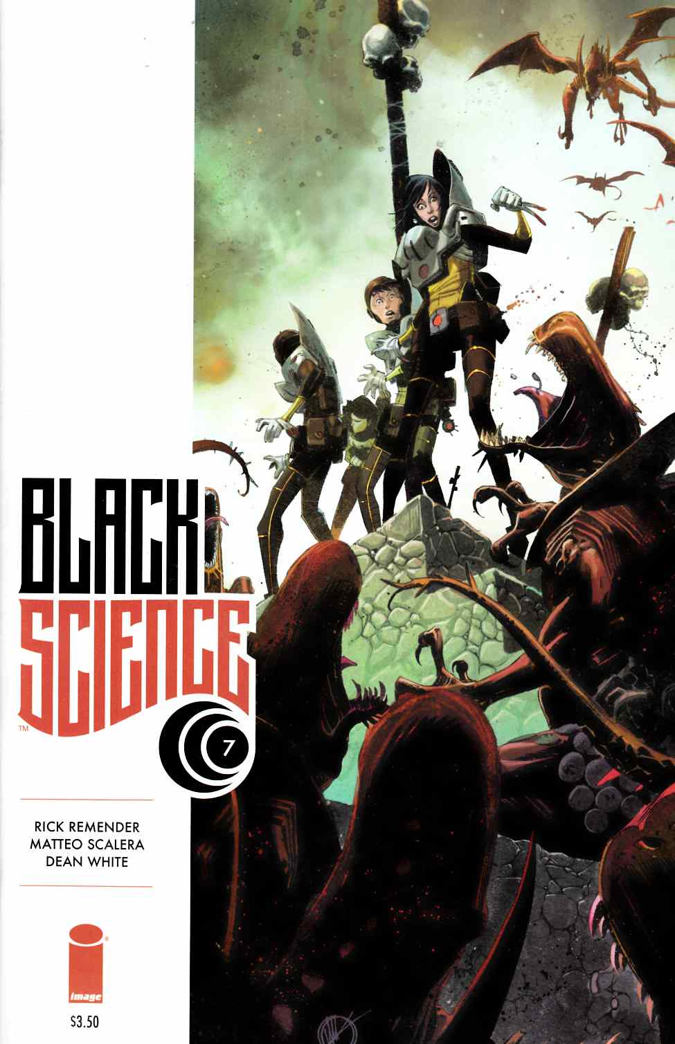 Black Science #7 [Image Comic] THUMBNAIL