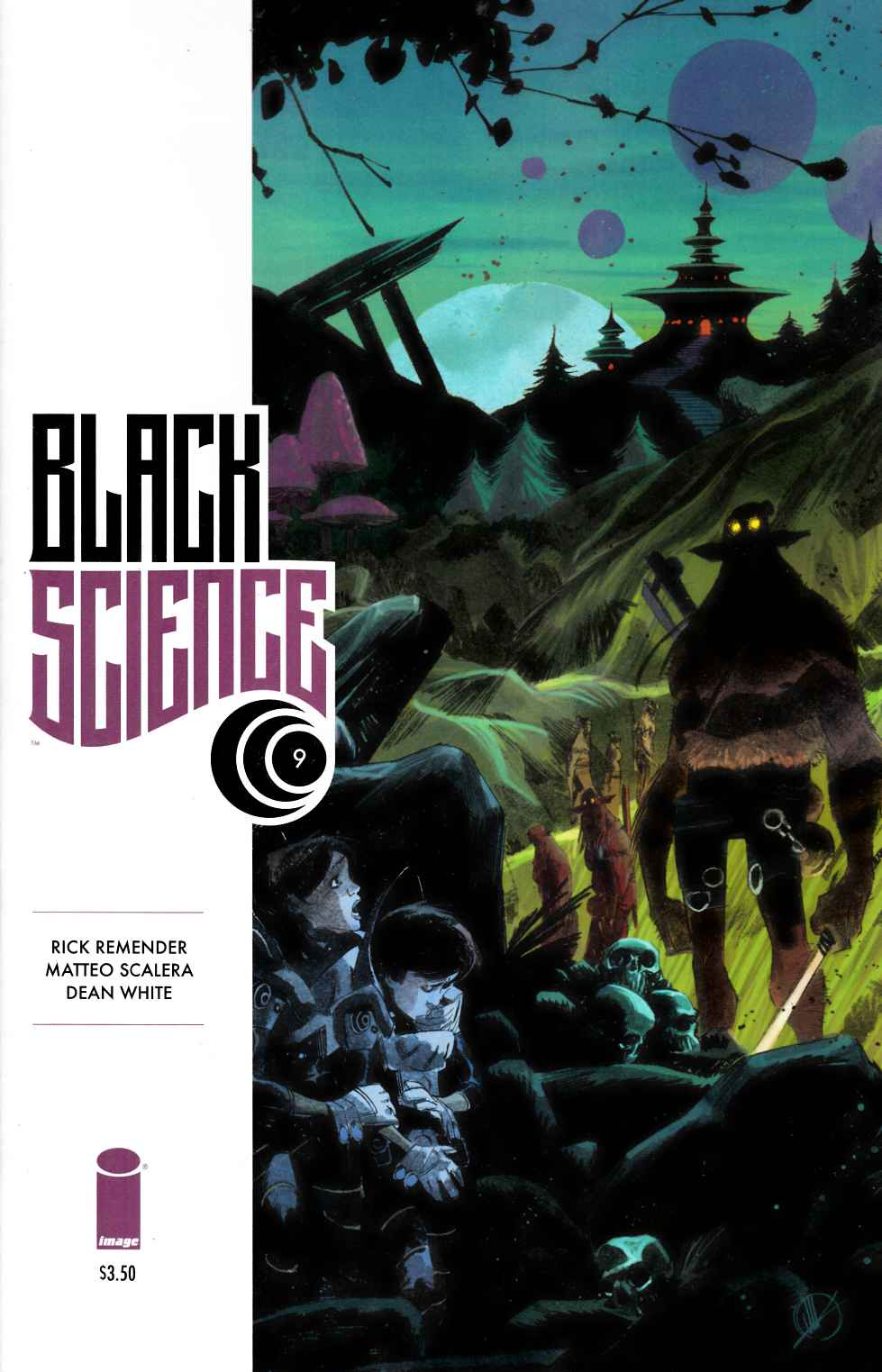 Black Science #9 [Image Comic] THUMBNAIL