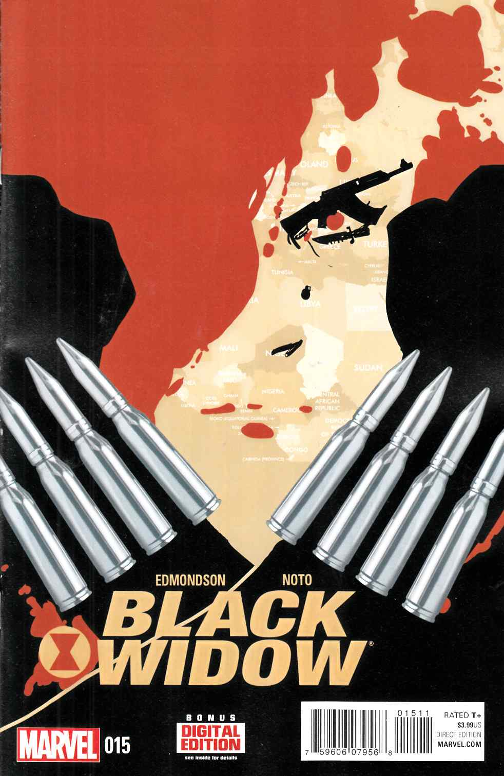 Black Widow #15 [Marvel Comic] THUMBNAIL