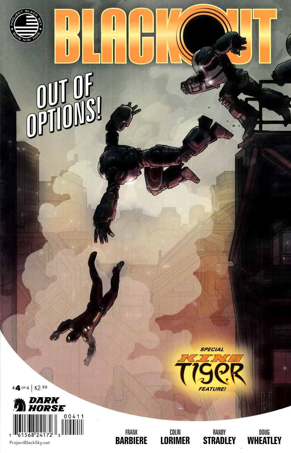 Blackout #4 [Dark Horse Comic] THUMBNAIL