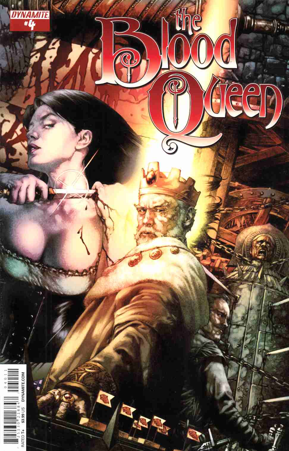 Blood Queen #4 Cover A- Anacleto [Comic] LARGE