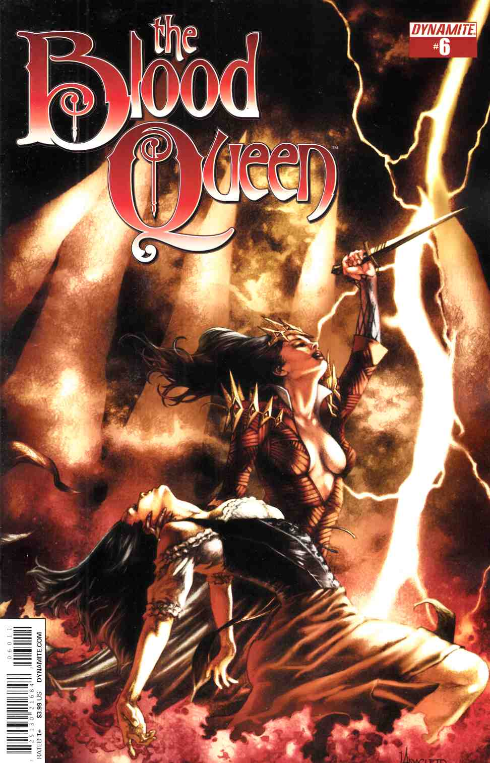 Blood Queen #6 Cover A- Anacleto [Comic] THUMBNAIL