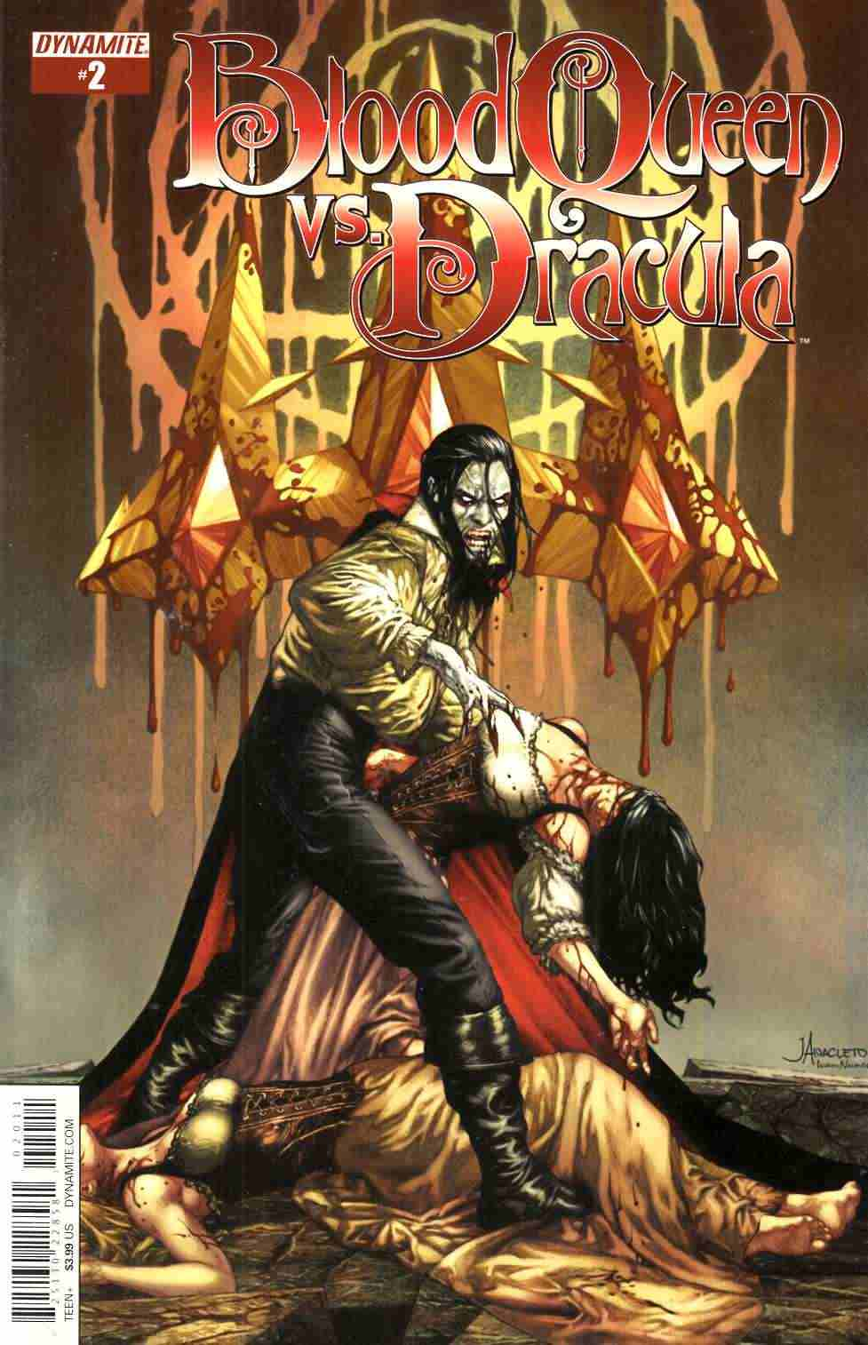 Blood Queen vs Dracula #2 Cover A- Anacleto [Dynamite Comic] LARGE
