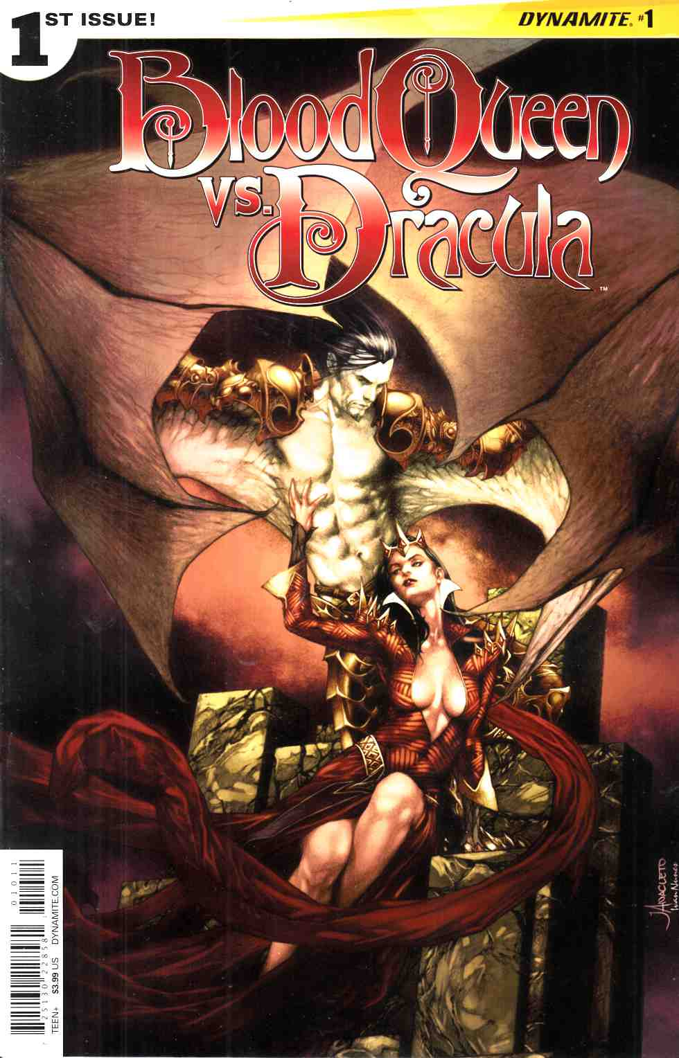 Blood Queen Vs Dracula #1 Cover A- Anacleto [Dynamite Comic] THUMBNAIL