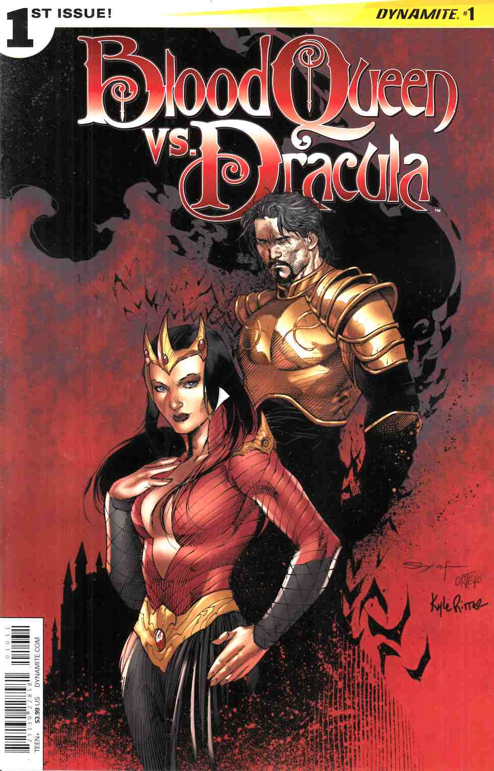Blood Queen vs Dracula #1 Cover C- Syaf [Dynamite Comic] THUMBNAIL
