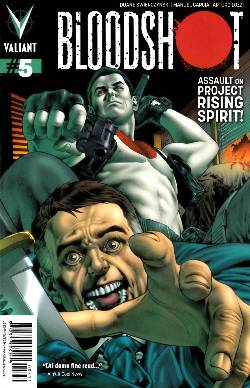 Bloodshot (ongoing) #5 Lozzi Cover [Comic] LARGE